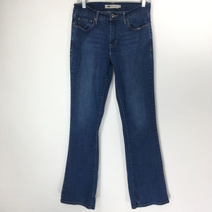 Levis 4 Jeans 515 Bootcut Dark Wash Denim Stretch